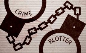 A calendar advertisement (Crime Blotter)