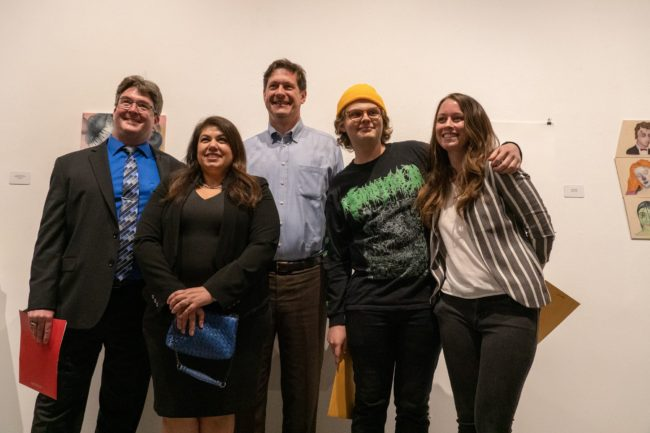 Art students awarded for their work at the Annual Juried Student Exhibition