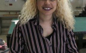 A female CSUN student in classroom