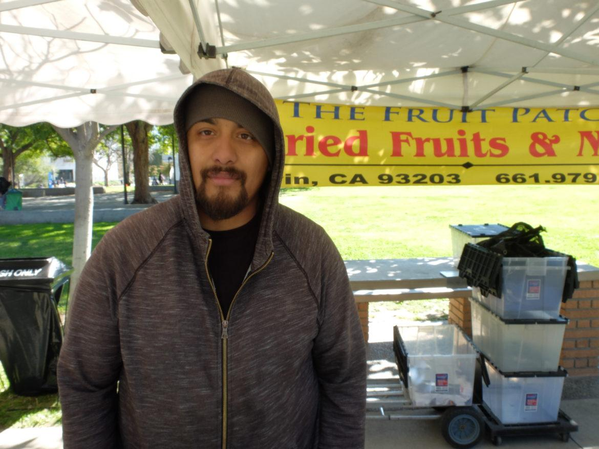 The Fruit Patch vendor, Chris Gallardo.