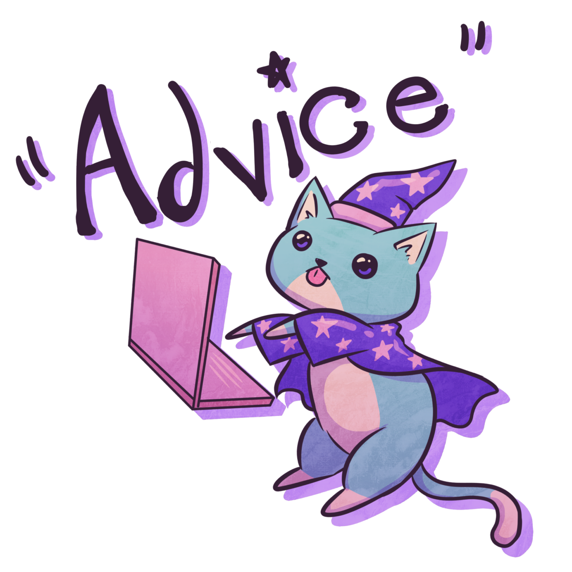 A picture about advice