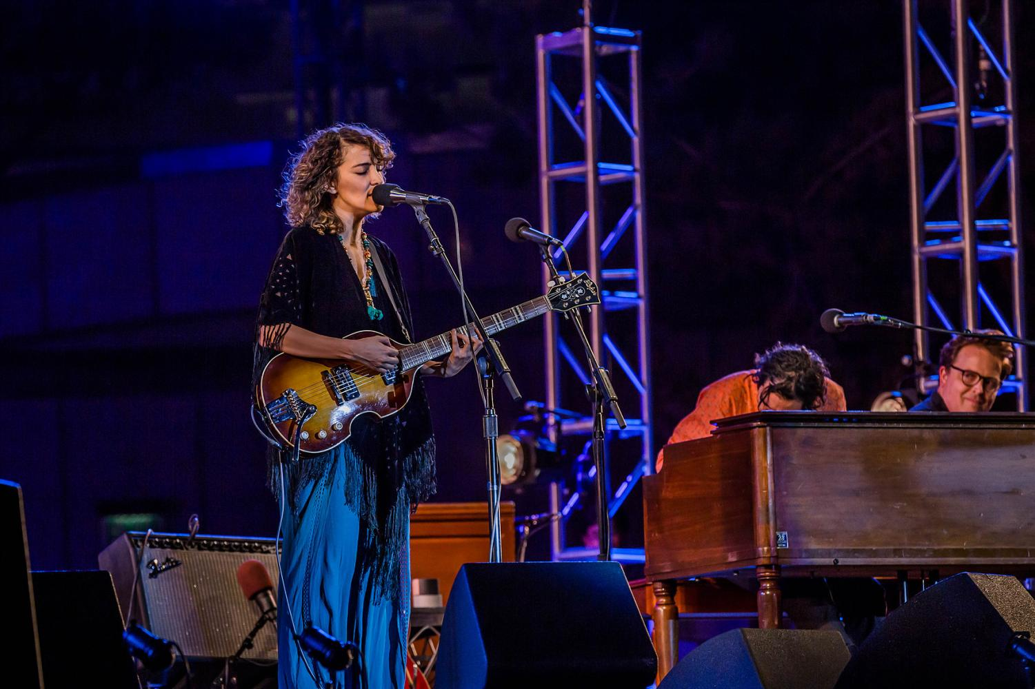 Gaby Moreno's music is strongly influenced by Blues and Jazz. Her love for