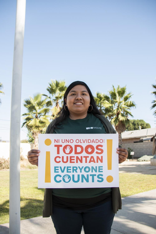 Portrait of Margarita Lopez-Pelayo, the community organizer for Pacoima Beautiful. Photo credit: Logan Bik