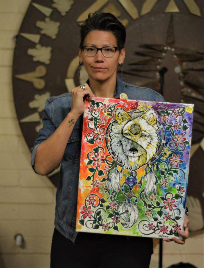 Venders selling art