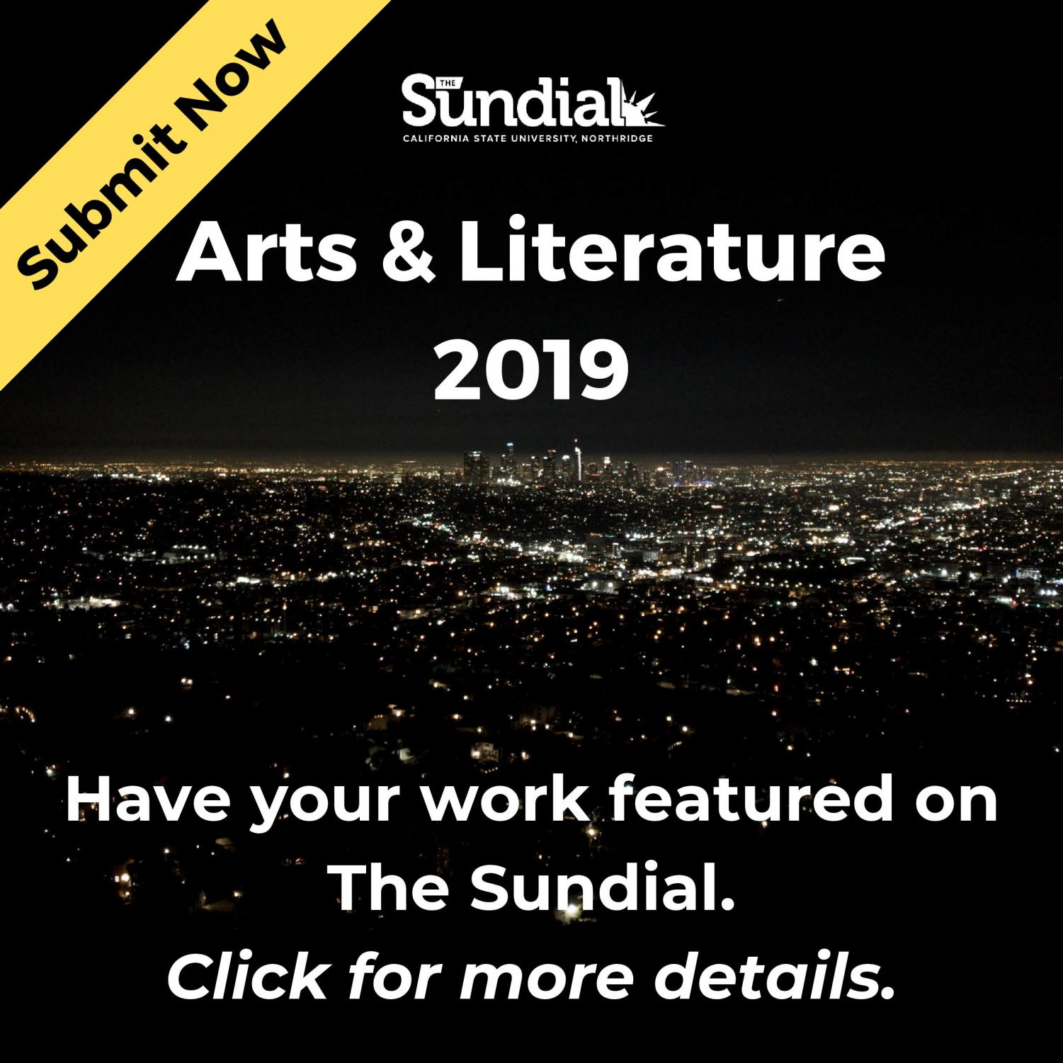 arts & lit call for submit 2019