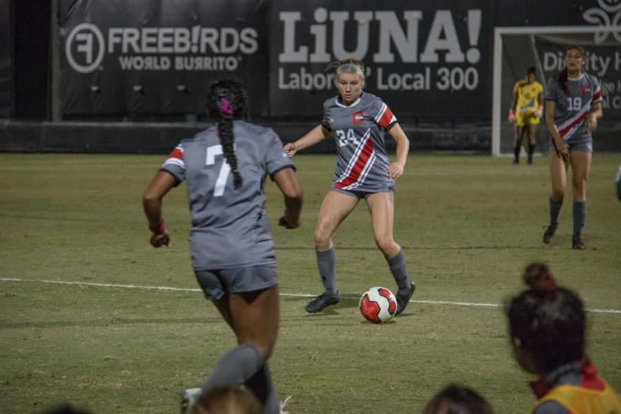 CSUN Women's Soccer game