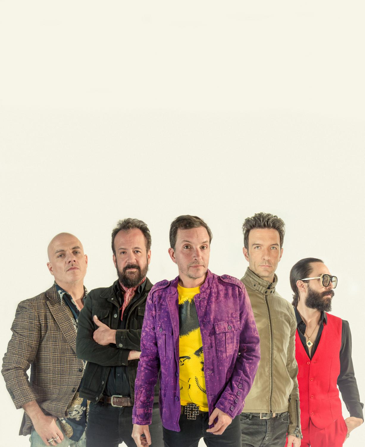 Band members of Fobia. Since their first album in 1990, the band is a pioneer in the scene of Mexican Latin Alternative bands coming from Latin America. Photo Credit: Courtesy of the band.