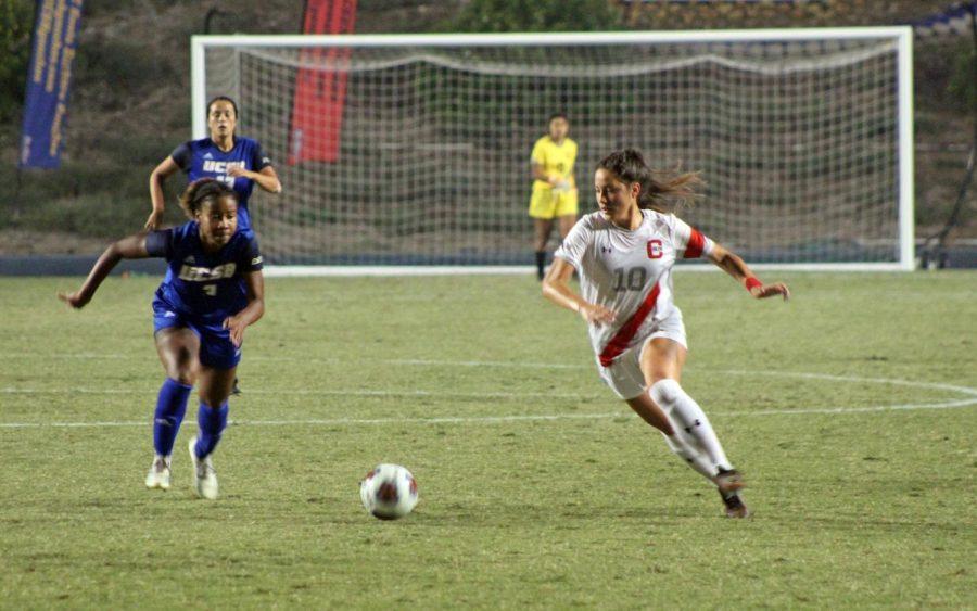 A+CSUN+Women%27s+Soccer+player