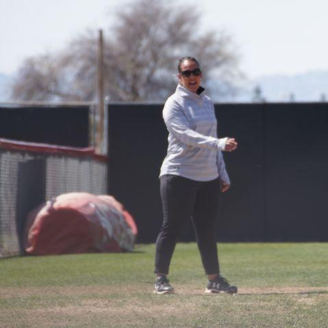 A Softball coach
