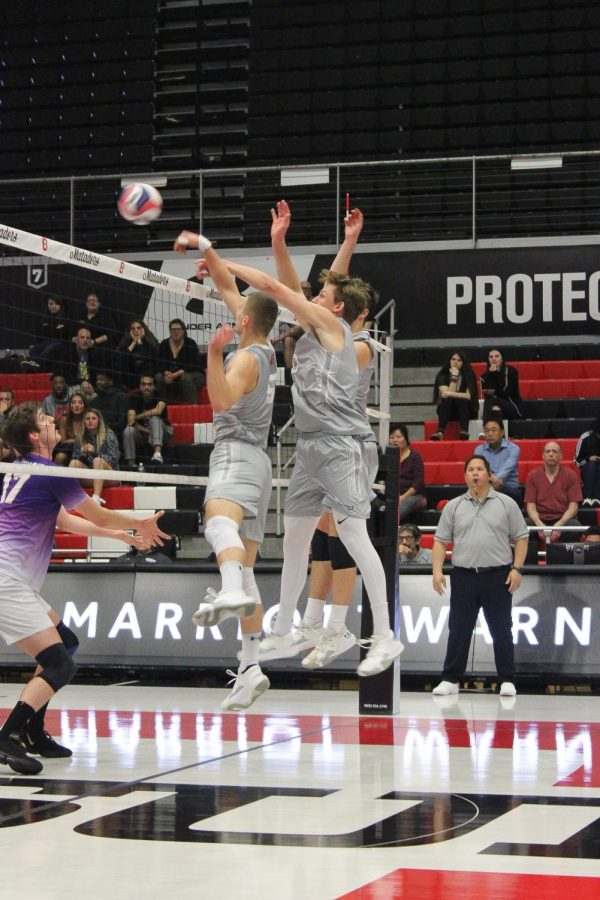 CSUN+Men%27s+Volleyball+game