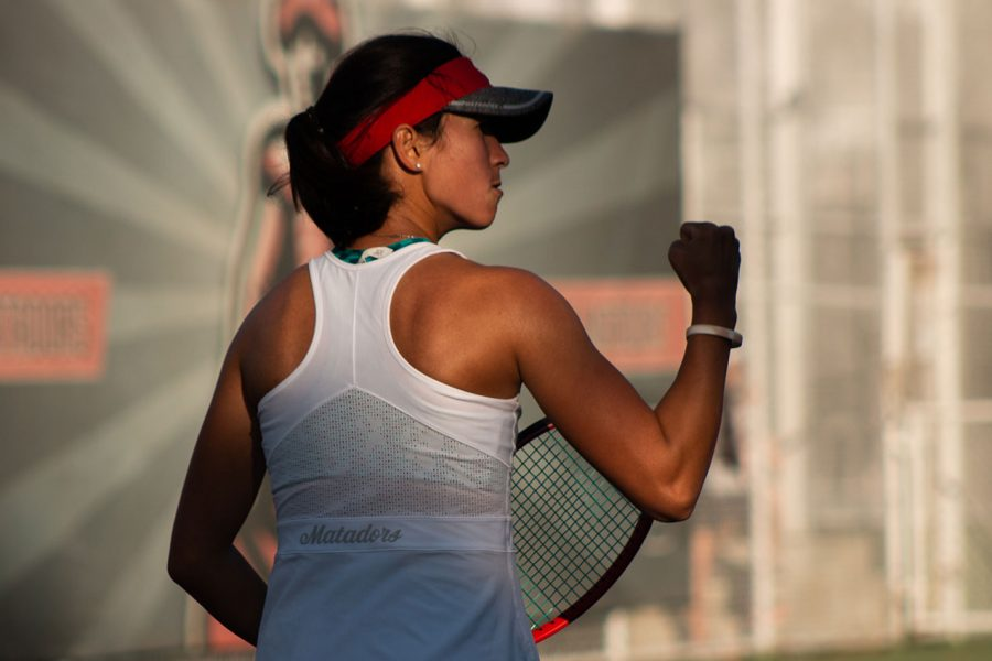 A+CSUN+Women%27s+Tennis+Player
