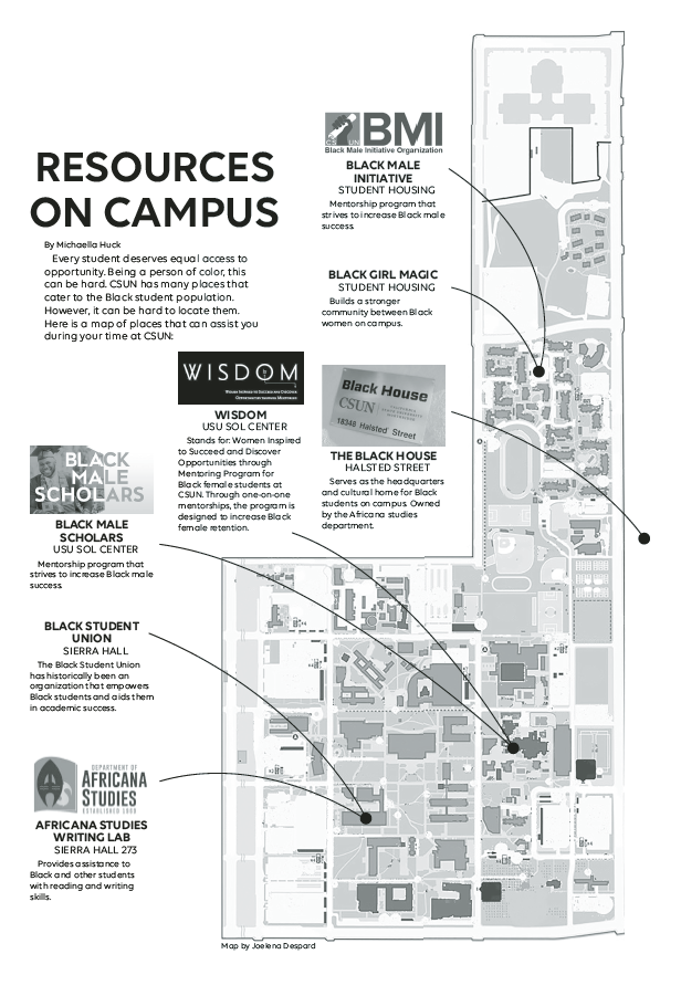 A+map+that+indicates+resources+on+campus+at+CSUN