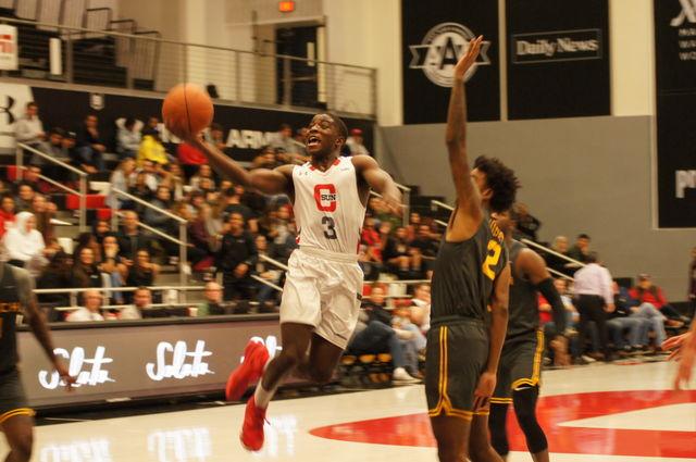 A CSUN Men's basketball player