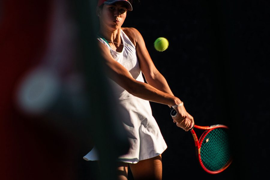 A+CSUN+Women%27s+Tennis+Player