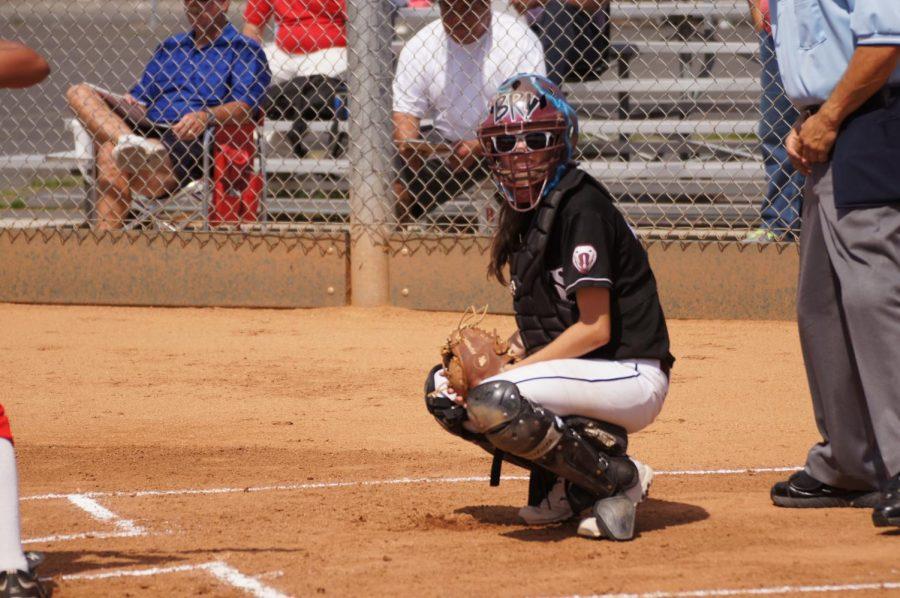 CSUN+Softball+player