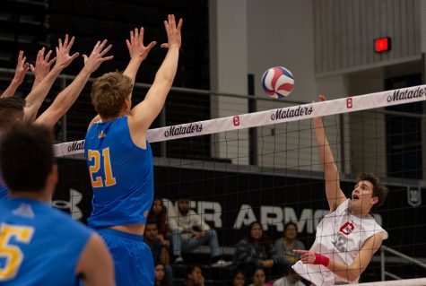 CSUn Men's volleyball game