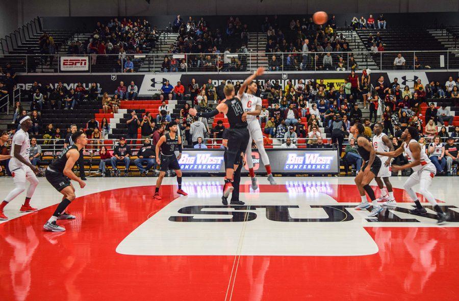 CSUN Men's basketball game