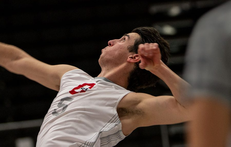 A CSUN Men's Volleyball Player