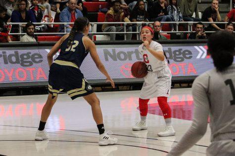 CSUN Women's basketball game