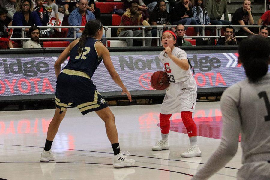 CSUN+Women%27s+basketball+game
