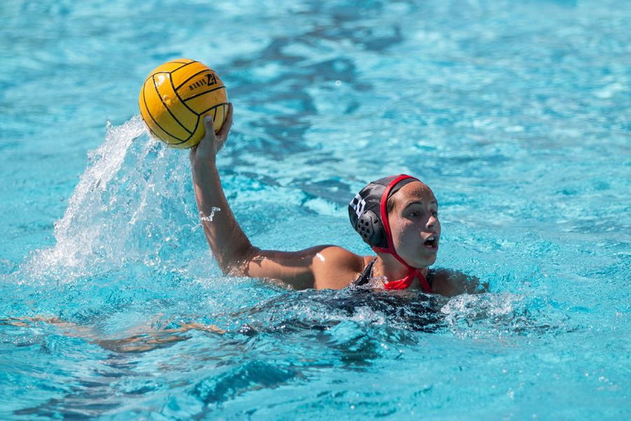 A+CSUN+Women%27s+Water+polo+athlete