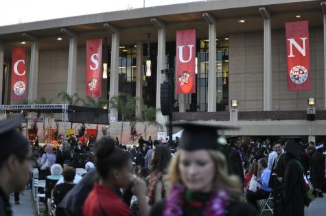 Students learn about post-graduate opportunities at CSUN