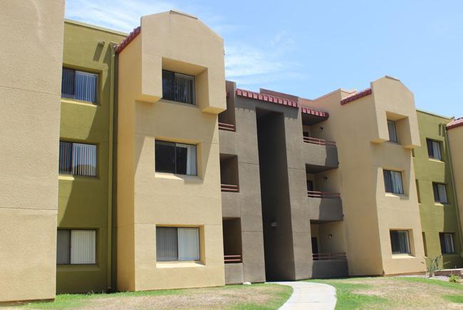 CSUN Student housing area