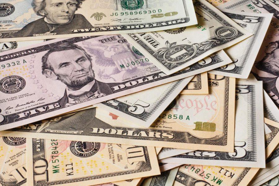 Multiple USD Bills