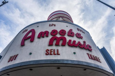 Amoeba Music's classic Hollywood location closes down due to the coronavirus and plans to relocate.
