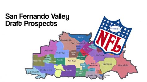 Illustration created with San Fernando Valley Census Boundaries and NFL logo.