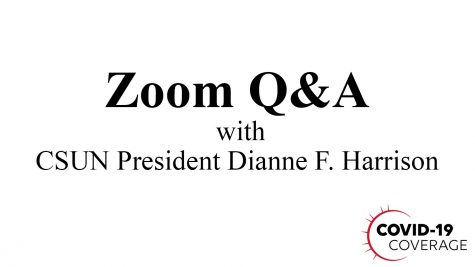 Zoom Q&A with CSUN President Dianne F. Harrison