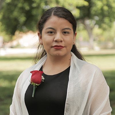 AS President Diana Vicente to serve as chair of Cal State Student Association.