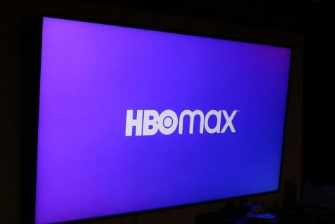 HBO Max opening screen.