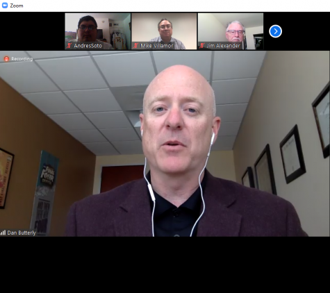 Dan Butterly was formally introduced as the new Big West commissioner in a press conference via Zoom on May 5.