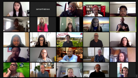 Photo from the virtual program hosted by the University Student Union and University Counseling Services on May 29