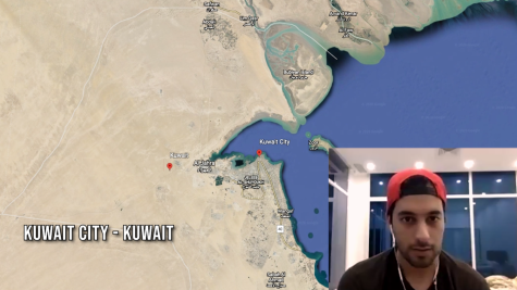 CSUN alumnus and filmmaker Abdullah Alhendyani is in Kuwait City, Kuwait due to the pandemic.