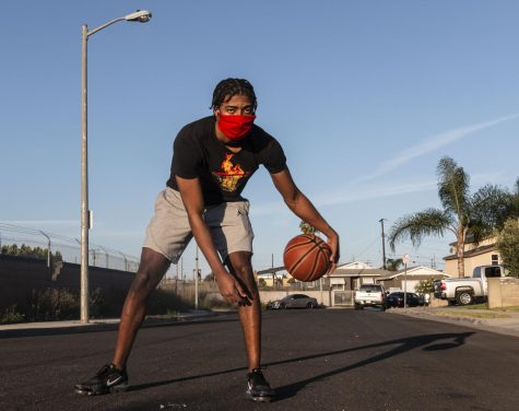 Amound Anderson is one of the many athletes set to play for CSUN this fall.