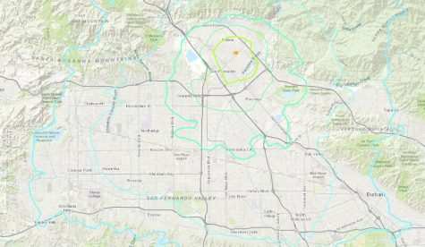 A 4.2 magnitude earthquake jolted the San Fernando Valley Thursday morning with an epicenter in San Fernando.