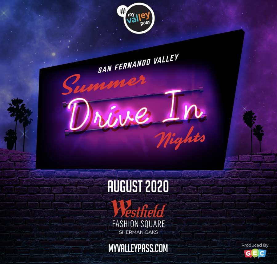 Fourth annual San Fernando Valley Drive-In Nights moves to the Westfield Fashion Square Mall in Sherman Oaks