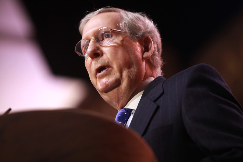 Republican Senate Majority Leader Mitch McConnell, said the proposal for a new stimulus package will be laid out early next week.