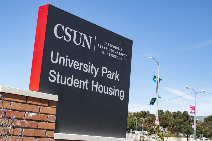 CSUN Student Housing has reduced their student occupancy from 3,400 students to 1,400 for the fall.