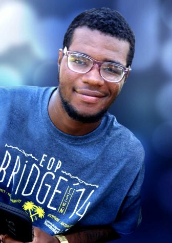 Quinten Thomas in summer of 2014 during EOP Bridge. (Photo courtesy CSUN Educational Opportunity Program)