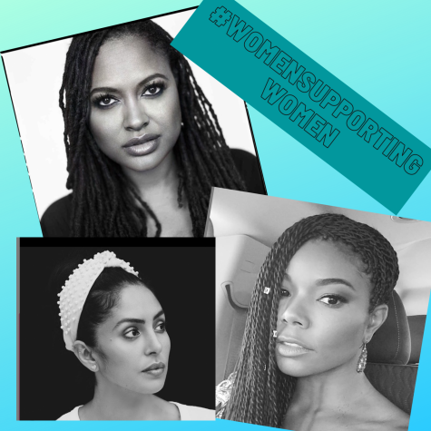 Celebrities like Ava DuVernay, Gabrielle Union and Vanessa Bryant have all participated in the new social media photo challenge that encourages women to support other women.
