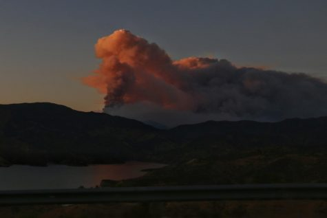 The Lake Fire has burned a roughly 10,000 acres in the Los Angeles Forest on Aug. 12.