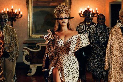 "Beyonce in ""Black is King"" on Disney+."