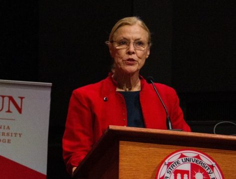 President Dianne F. Harrison announced the Diversity and Equity Innovation Grant Fund in a campus-wide email on Friday, Aug. 14, 2020.