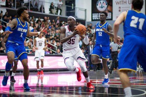 Lamine Diane, the former CSUN forward,    could be the first CSUN