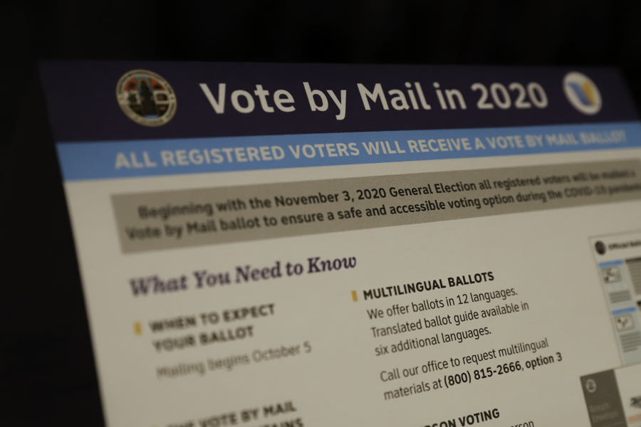 The operational changes to the U.S. Postal Service and the push toward mail-in voting because of the COVID-19 pandemic has caused uncertainty for voters.