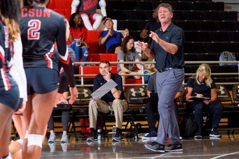 Jeff Stork, the former CSUN womens volleyball coach.