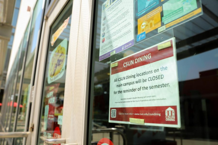 The COVID-19 pandemic has forced The University Corporation to close all CSUN dining locations on the main campus.
